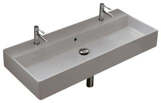Rectangle Bathroom Sink Sinks Bathrooms White Porcelain Vessel Inside Plan Caxton Rectangular Undermount