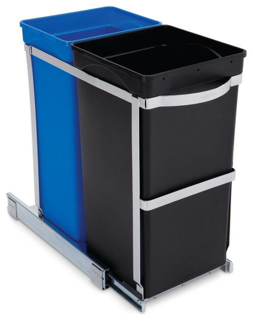 Simplehuman Under-Counter Pull-Out Recycler, Commercial Grade ...