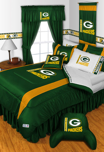 Marvelous NFL Green Bay Packers Bedding And Room Decorations Modern
