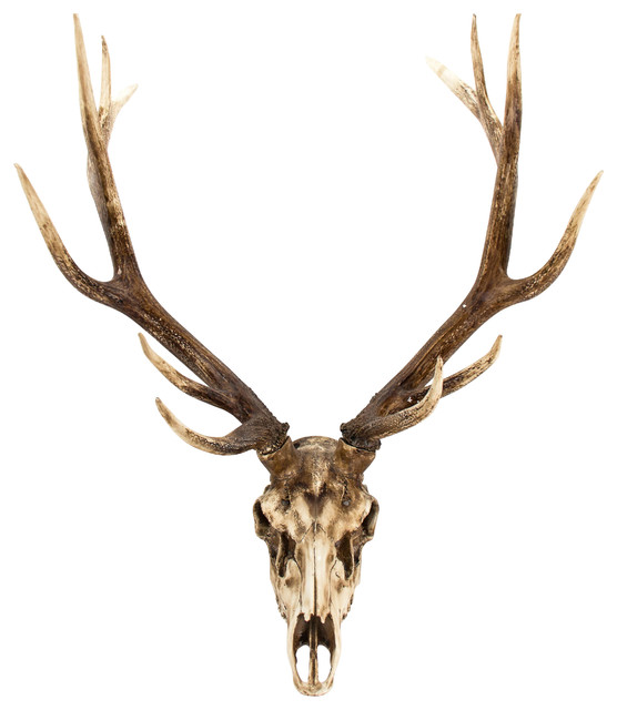 Southwestern Wall Decor deer skull wall decor - southwestern - wall sculptures -