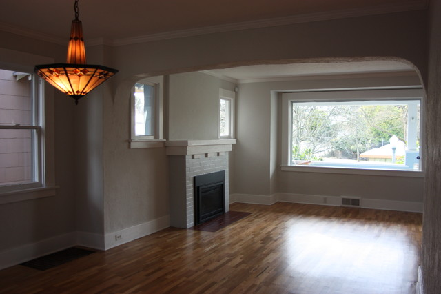 Historic Home Whole House Remodel craftsman-living-room