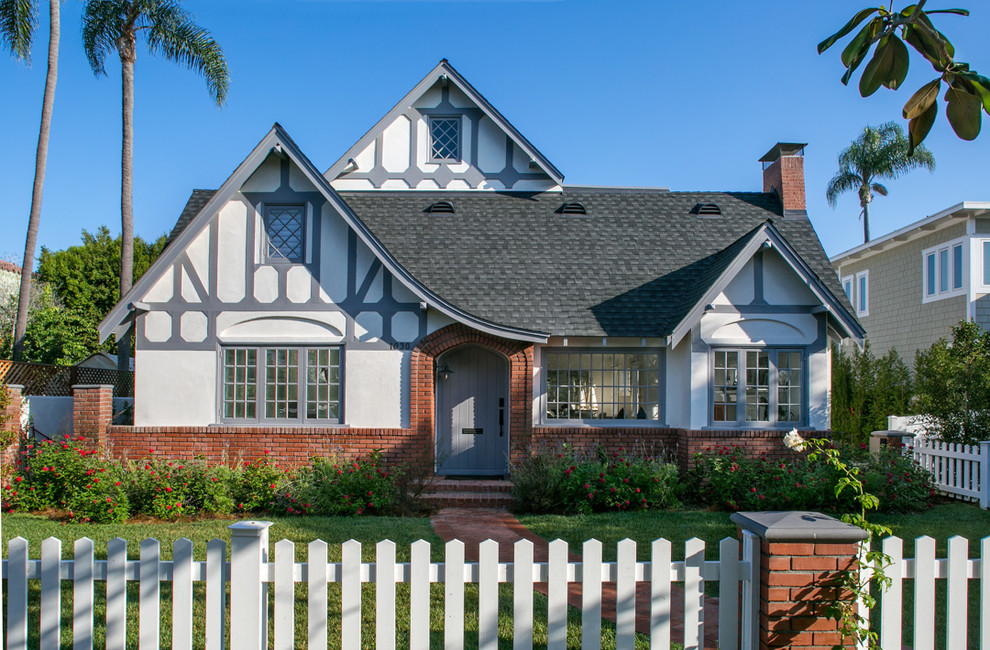 Updated Tudor Revival