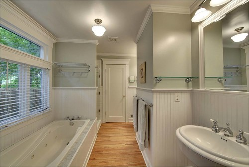 Brilliant Hardwood Floors In Bathroom Love To Hear Feedback From Anyone Who Has Inside Design