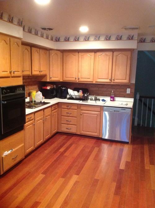 Redoing kitchen White or dark cabinets for modern feeling home