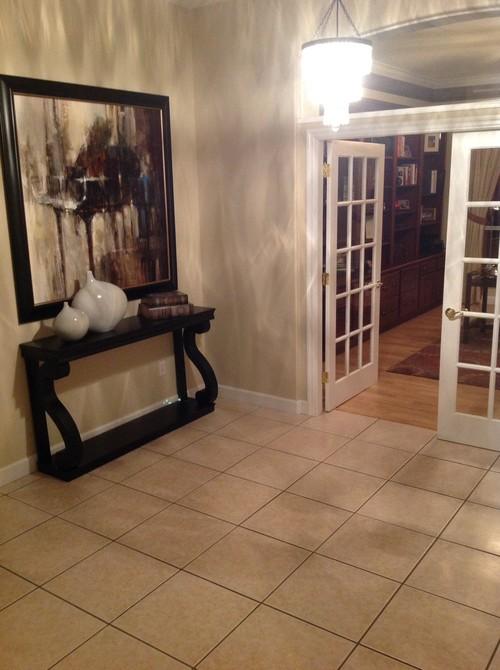 Houzz Foyer Rug : What type of foyer rug
