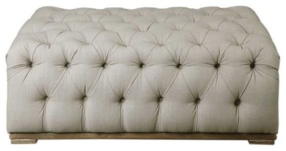 Tufted Bench.
