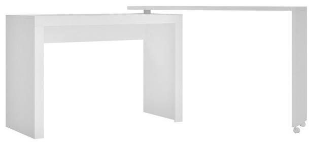 Calabria Nested Desk, White.