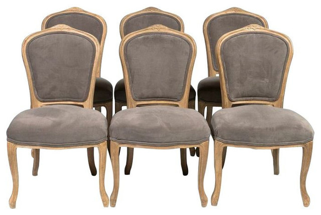 Set Of 6 Louis Xv Style Dining Chairs 3 000 Est Retail 1 620 On