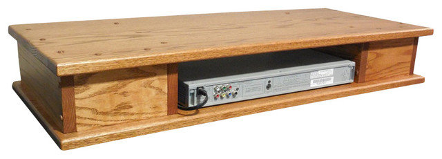 Flat Screen Oak Tv Riser With Drawers