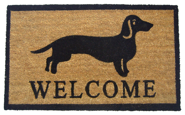 Welcome Dog Doormat.