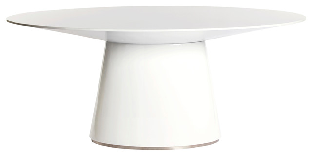 otago oval dining table  modern  dining tables  by moe's home, Dining tables