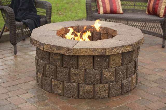 Outdoor fire places and pits sacramento by silverado for Materials needed to build a fire pit