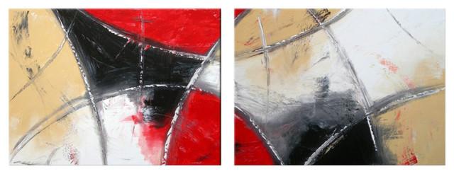 "Darco Arte ""emozioni 317"" Painting, 24""x64""."