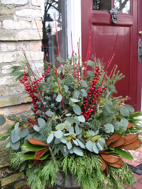 8 Festive Ideas For Winter Container Gardens