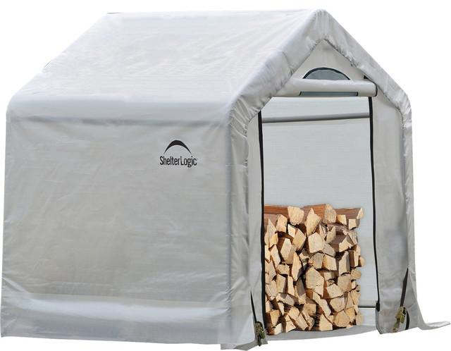Firewood Seasoning Shed, 5&x27;x3.5&x27;.