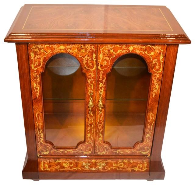 Shop Houzz | THREE STAR 2 Door Curio - China Cabinets And ...