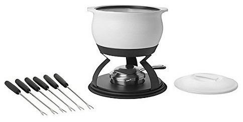 trudeau catalina fondue set 3 in 1 contemporary fondue and raclette sets by cilantro the. Black Bedroom Furniture Sets. Home Design Ideas