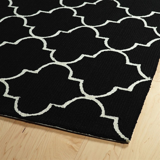Kaleen Escape Black 5x7&x27;6, Area Rug.