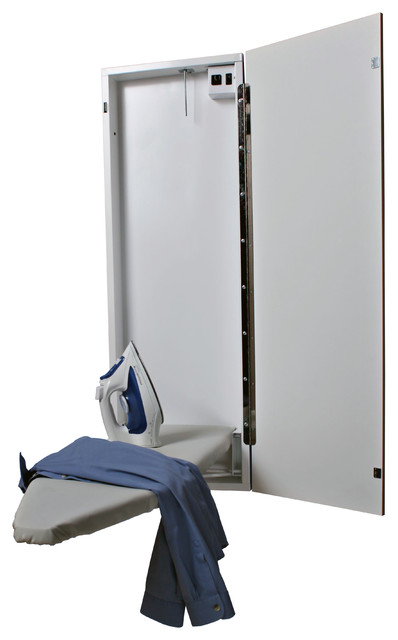 Electric Ironing Board ~ Handi press electric ironing center contemporary
