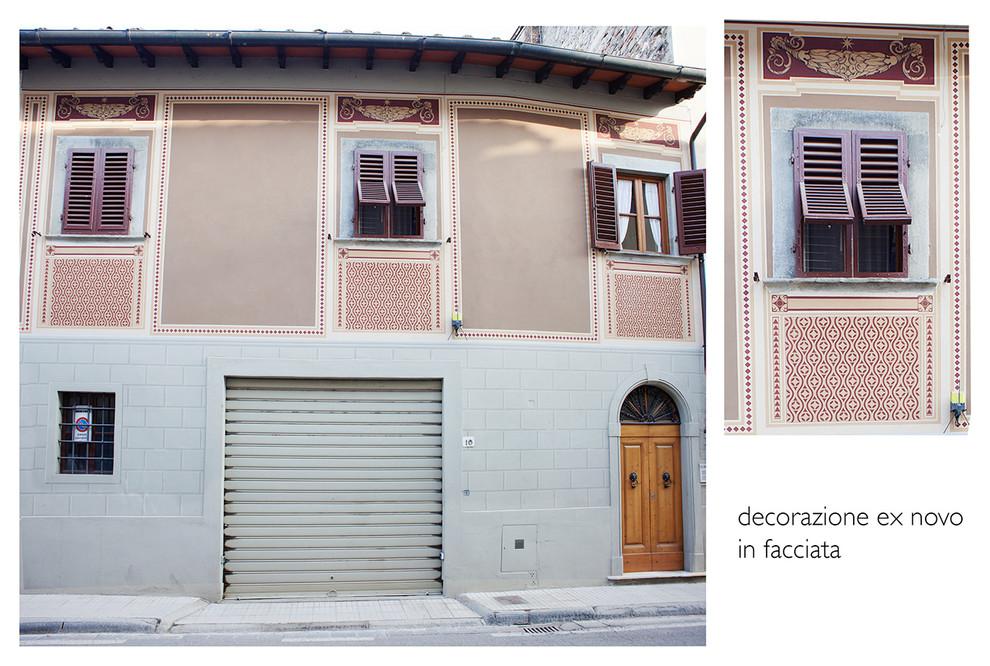 I miei progetti-Facciata-Mugello(Fi-Italia)