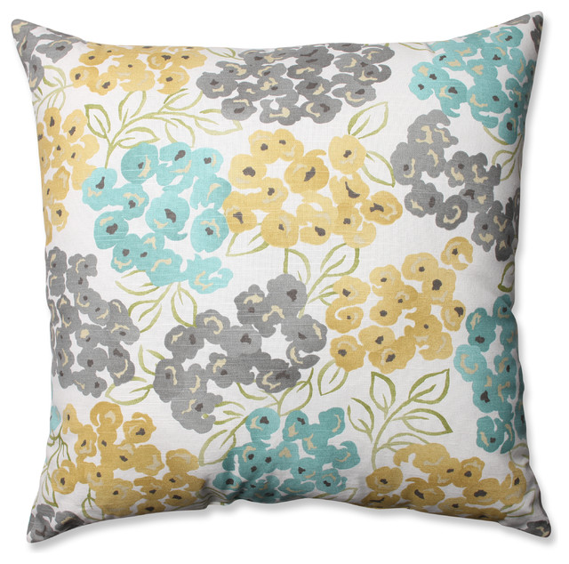 Exotic Floor Pillows : Luxury Floral Pool 24.5