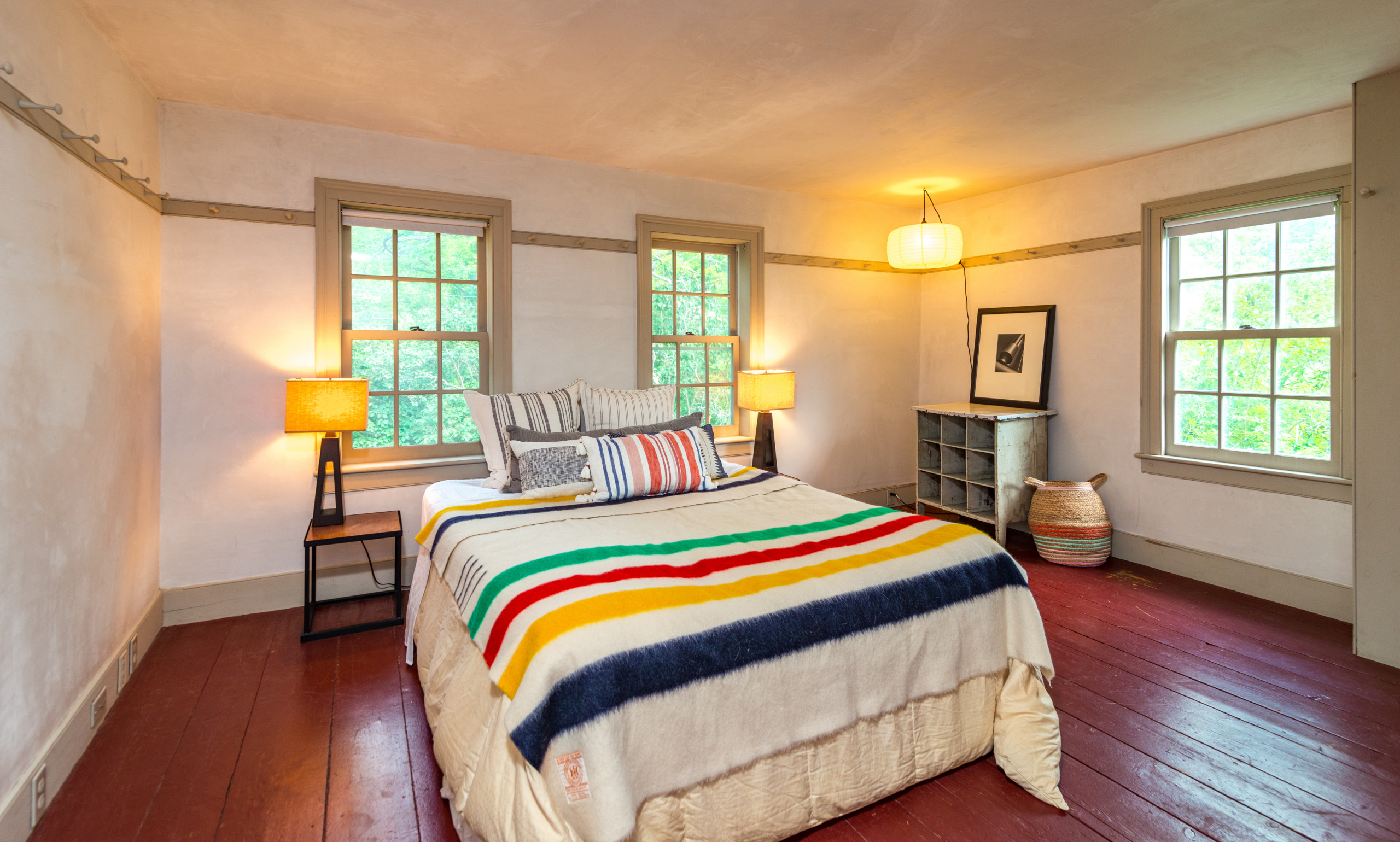 East Chatham NY Farmhouse Staging