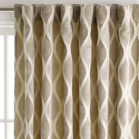 Concealed With Curtain Delus Natural Lightfilter 180x250cm Concealed Tab Top Curtain contemporary-curtains
