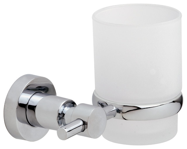 No Drilling Required Bath Hardware By Nie Wieder Bohren Germany, Glass Tumber - Contemporary ...