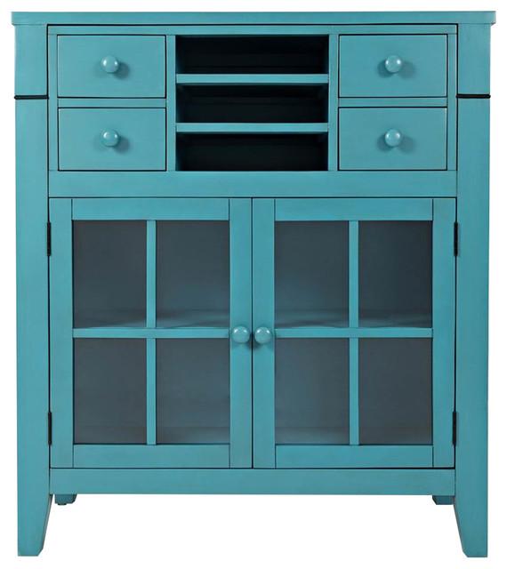 Accent Desk, Seashore Blue.
