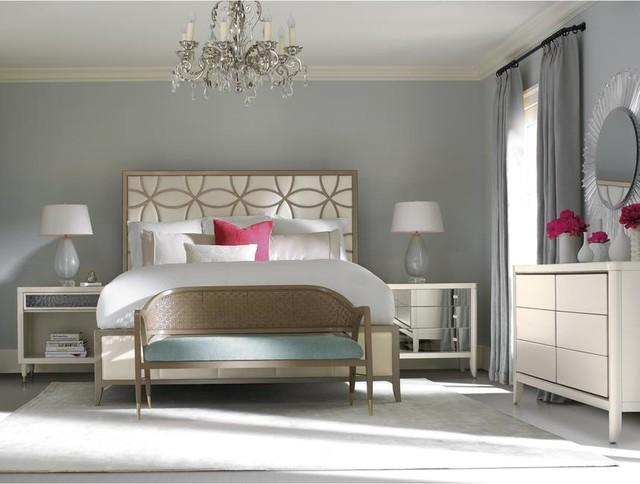 Bedroom Sets El Dorado sleeping beauty king bed - contemporary - bedroom - miami -el