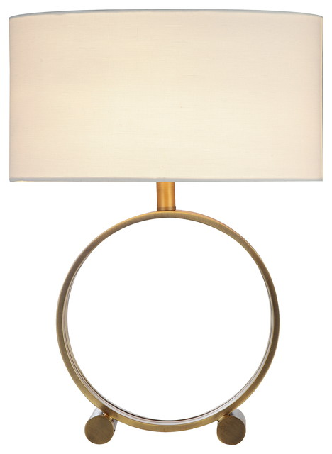 Alli Table Lamp, Brass.