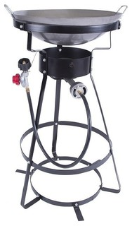 Stansport 54000 Btu Outdoor Cooker With Wok Contemporary