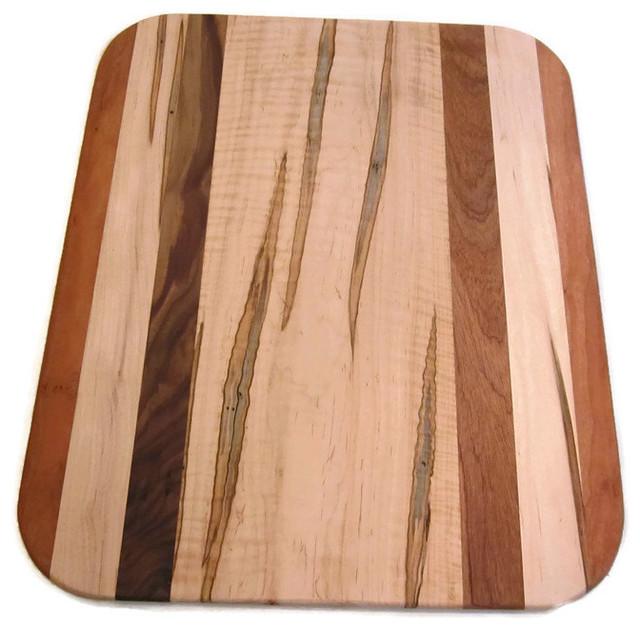 Large Rectangle Multi Wood Cutting Board