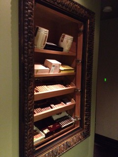 Built in Humidor - Orange County - by David Rance Interiors