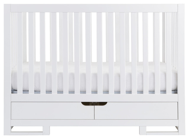 oslo convertible crib with drawers modern cribs by karla dubois. Black Bedroom Furniture Sets. Home Design Ideas