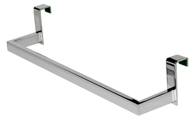 Exceptionnel Over The Cabinet Door Towel Holder, Square