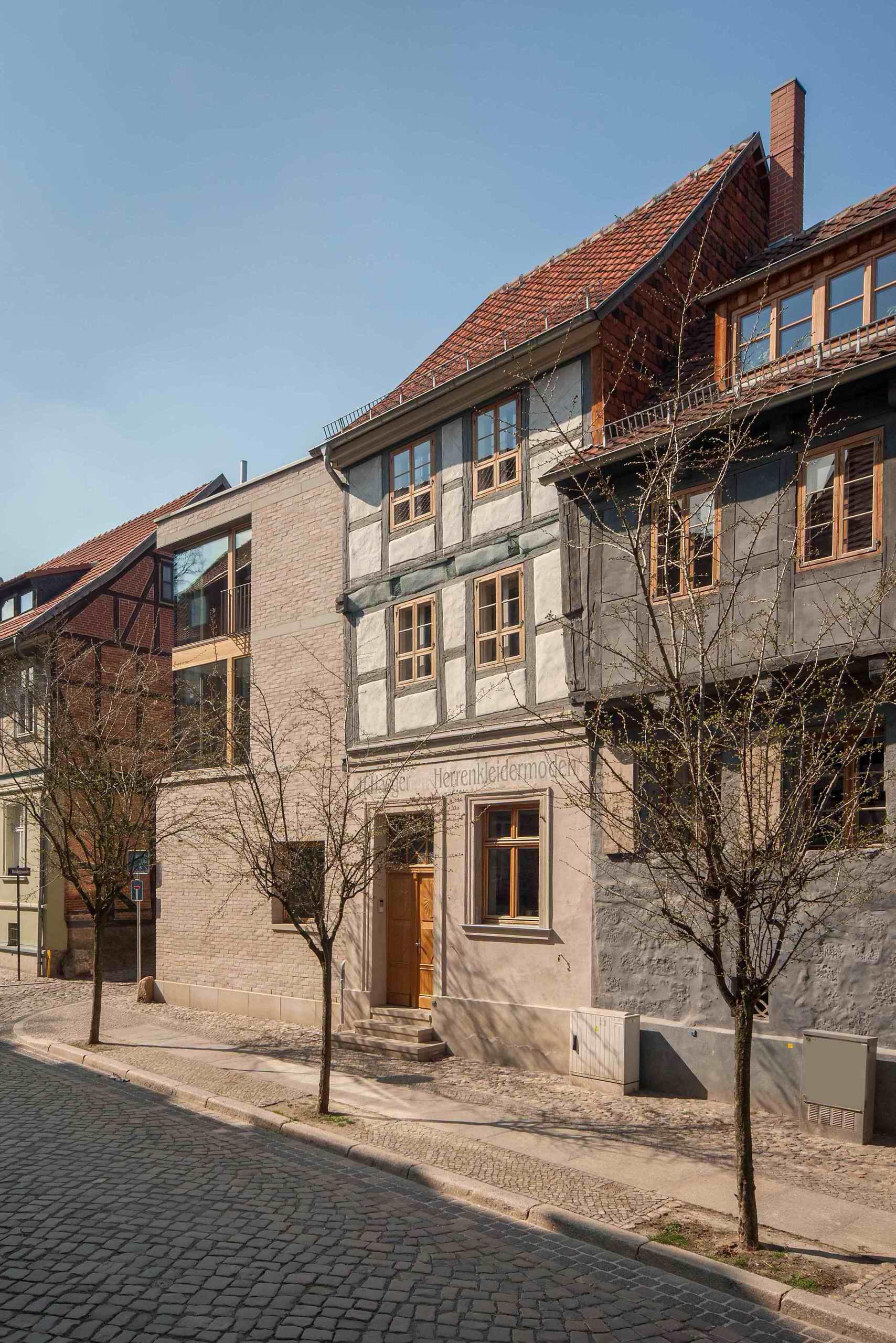 Architektur Mittelalterfachwerk trifft 21. Jahrhundert in Quedlinburg
