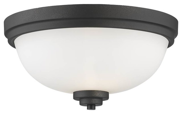 Contemporary Flush Mount Light.
