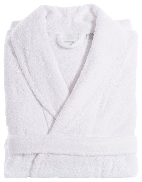 Linum Home Unisex Terry Cloth Bathrobe - Contemporary - Bathrobes ... 238535154