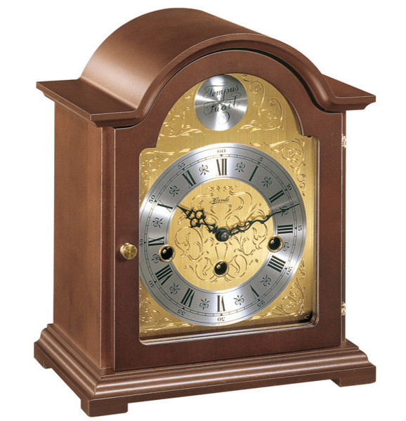 hermle bethnal mantel clock with key wind movement mantel - Mantel Clock