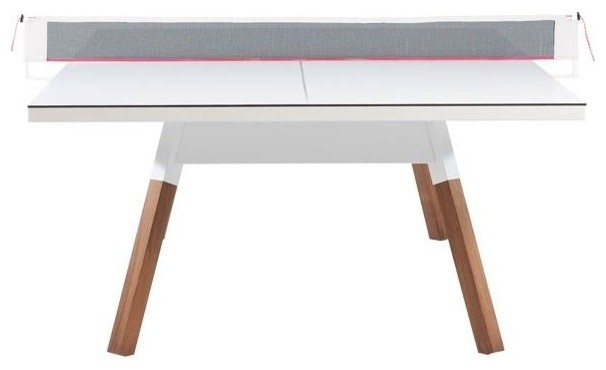 You and Me Table Tennis Table, White