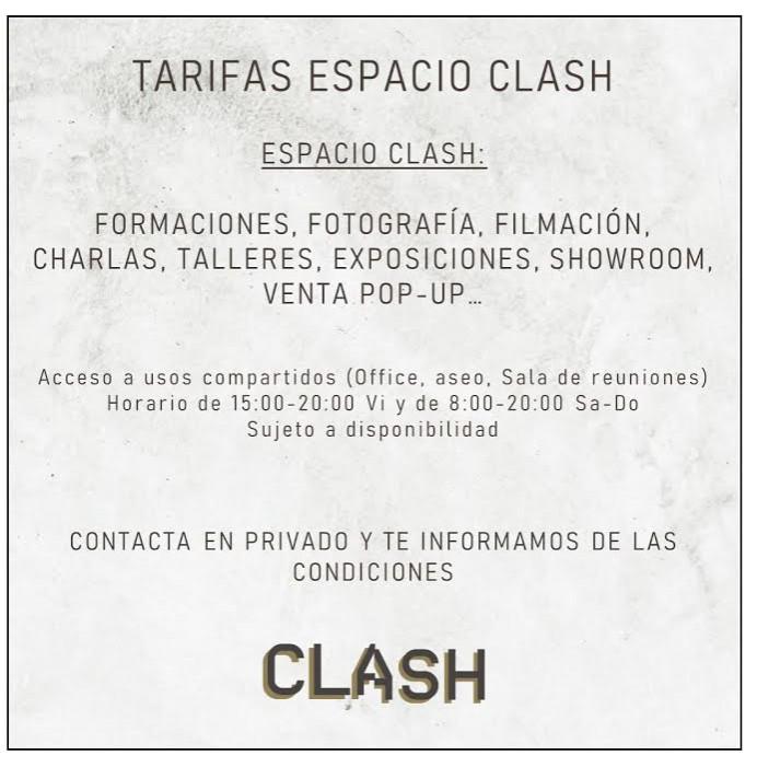 Clash CoWorking - Trabaja en nuestros espacios.