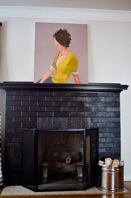 Whether your brick fireplace could use a makeover or the walls just need a fresh coat