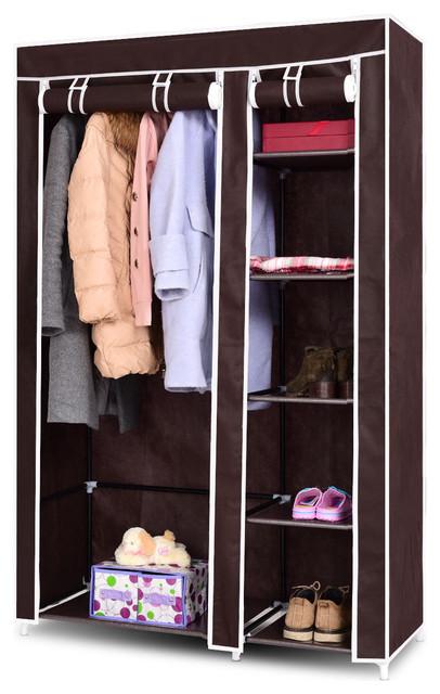Home Organization Waterproof Portable Wardrobe Clothes