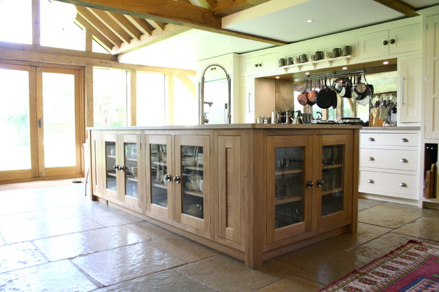 Design an oak framed kitchen extension for Traditional kitchen extensions