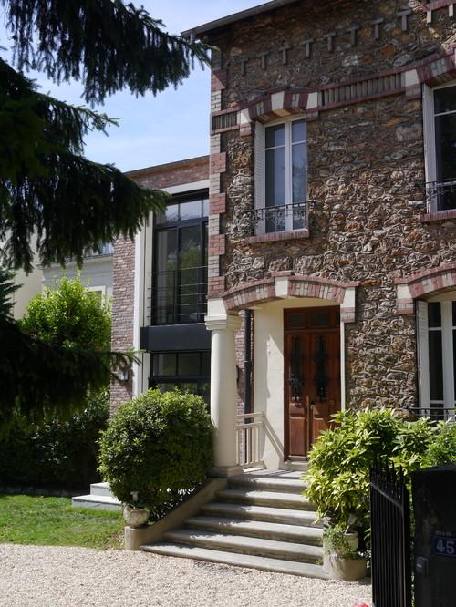 Extension d 39 une maison en r gion parisienne for Architecte region parisienne