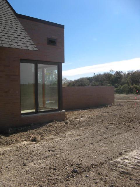 Contemporary New Home Landscape - Caledonia