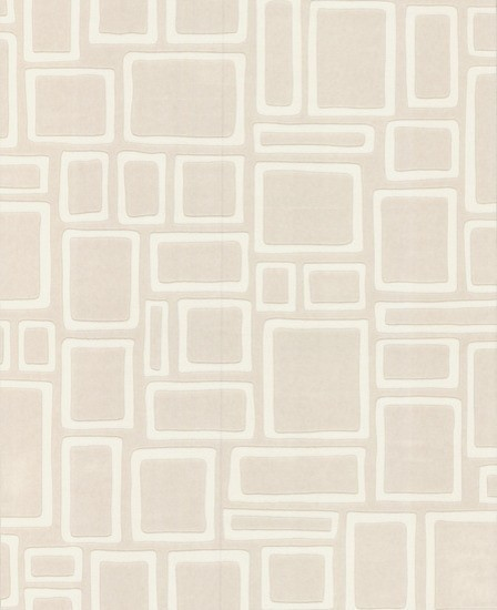 Paintables Super Fresco Wallpaper, Squares Pattern, Roll