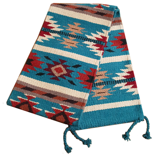 Good Southwest Table Runner, Blue Southwestern Table Runners