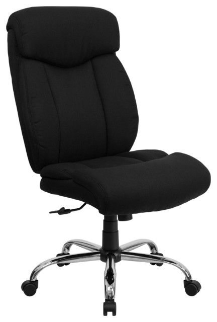 Hercules Series 400 Lb. Capacity Big And Tall Fabric Chair, Without Arms.